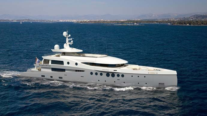 Superyacht Amels
